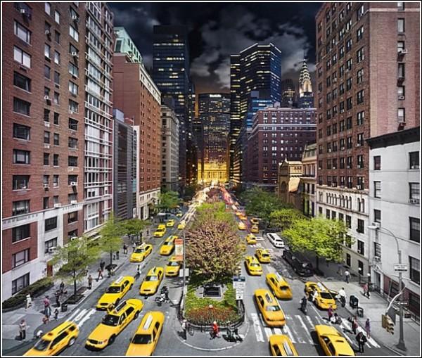 День и ночь в одном кадре: Парк-авеню