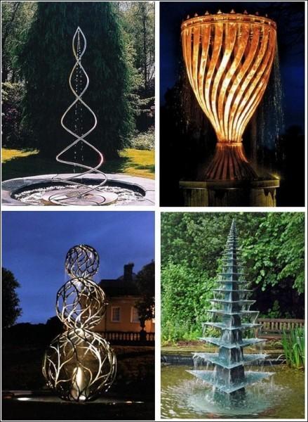 Магия текущей воды: динамичная парковая скульптура Джайлса Рейнера