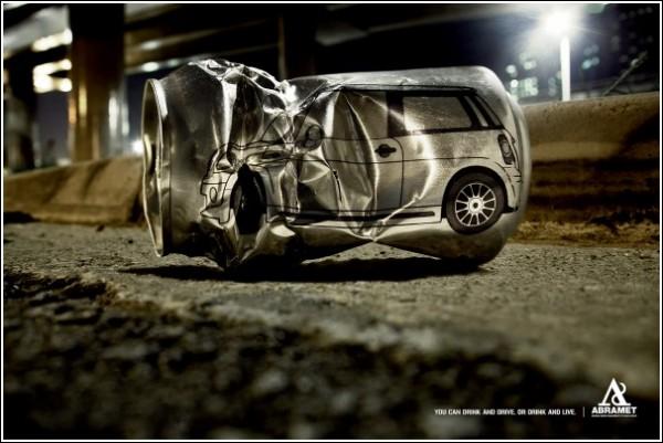 Алкоголь или руль: социальная кампания против нетрезвого вождения