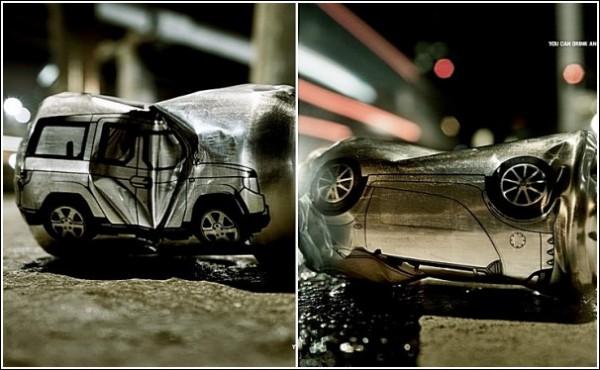Алкоголь или руль: бразильская социальная кампания