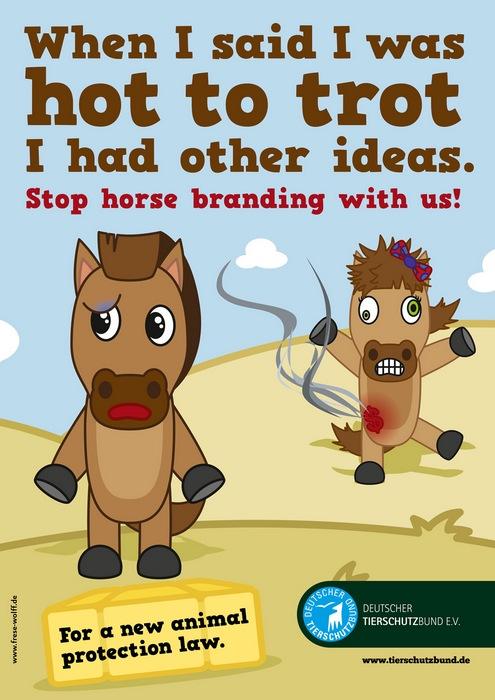 Оригинальная реклама в защиту прав животных: «Когда я говорил, что хочу чего-нибудь погорячее, я не это имел в виду»