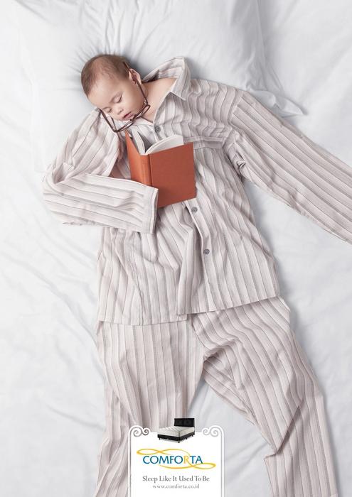 Верните мне мое детство! Креативная реклама мебели для спальни