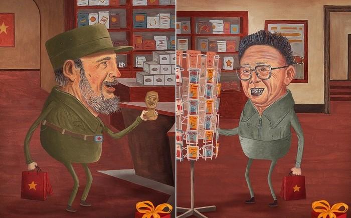 Коммунизм с улыбающимся лицом: веселая реклама музея