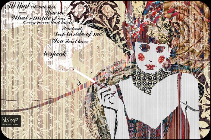 Орнаментальные рисунки Альбины Пугиной: *Мечтательность*