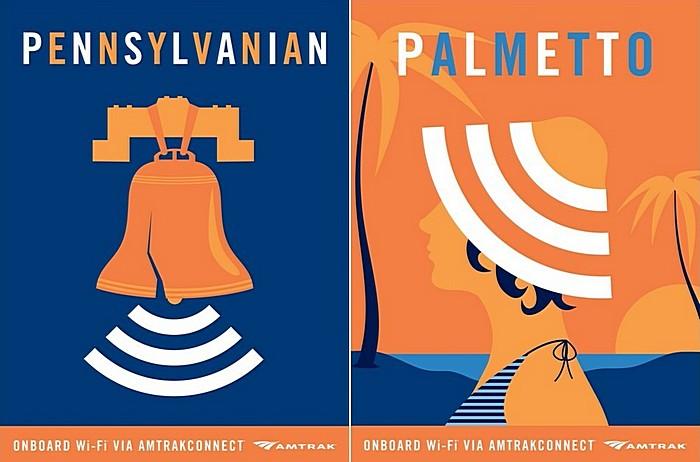 Есть ли вай-фай в поезде: американская креативная реклама