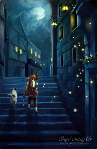 Цифровая живопись Мелани Си: «Ангел среди нас»
