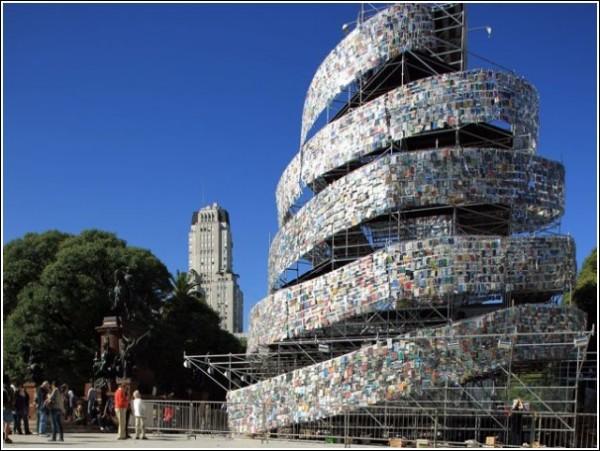 Новая башня в Буэнос-Айресе: книги всех жанров и направлений