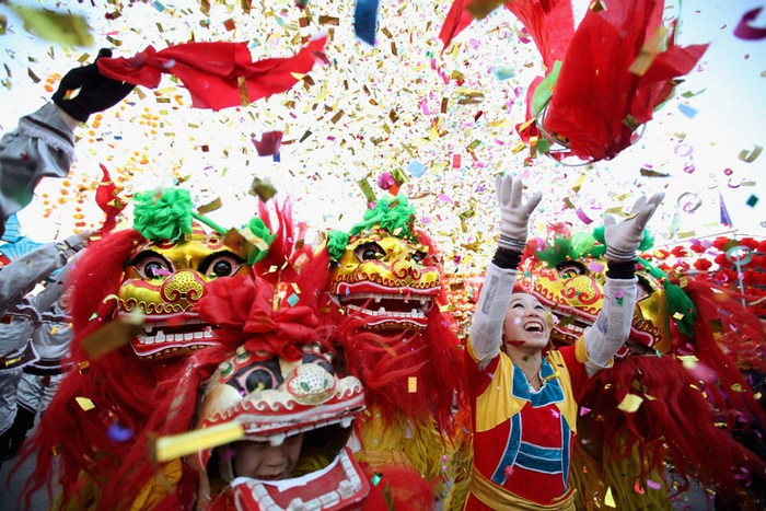 Драконовские мероприятия: празднование нового года в Пекине