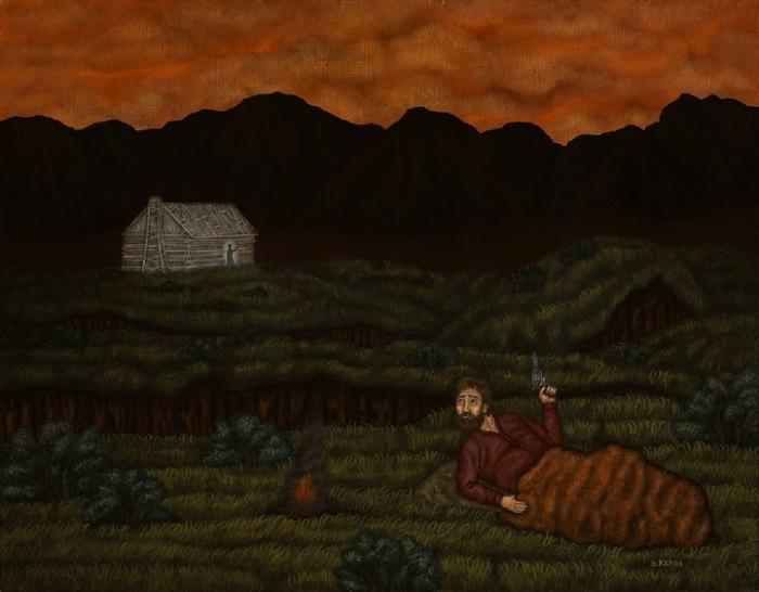 Первопроходцы на Диком Западе: живописные картины Бена Киу