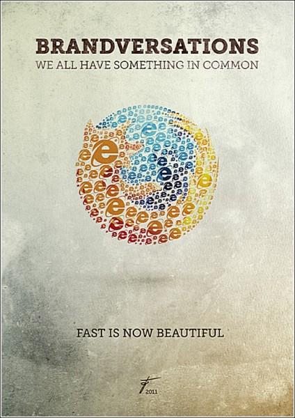 Фирменные логотипы из фирменных логотипов: *Firefox*