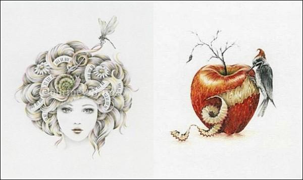 Пряди и музыка: сказочные рисунки Кортни Бримс