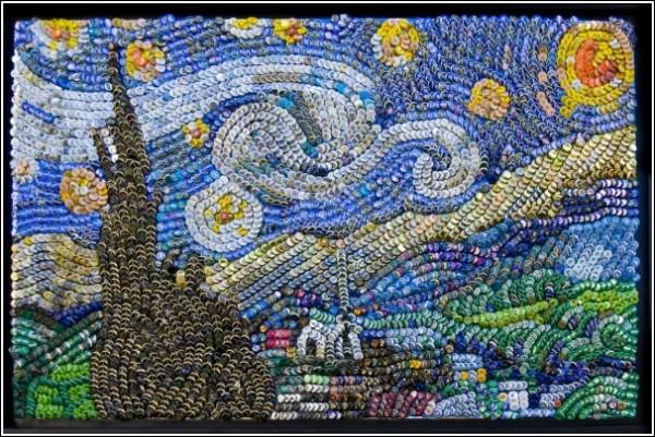 Жесть, а не Ван Гог: «Звездная ночь» Аарона Буэринга