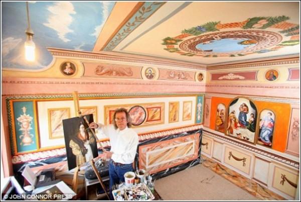 Роспись стен и потолков - дело рук Роберта Бернса