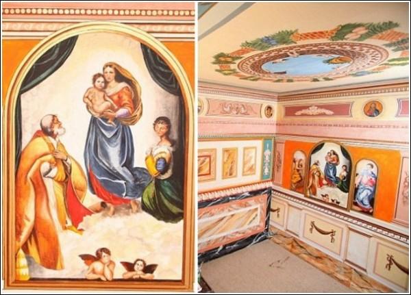 Роспись стен и потолков в духе итальянского Возрождения: творчество Роберта Бернса