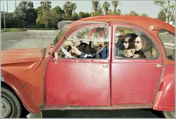 Фотографии в машине: снимки Эндрю Буша, сделанные за рулем