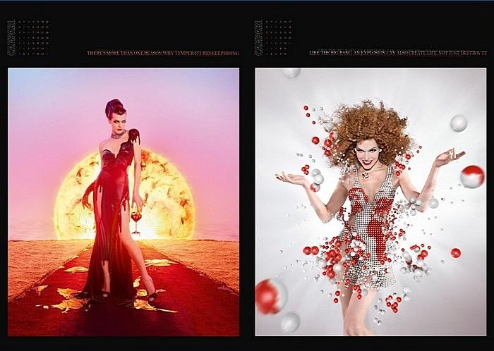 Креативный календарь, посвященный концу света: ноябрь-декабрь (последний день - 21.12)
