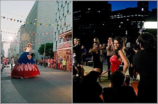 Яркие фотографии Сесиль Меллы: город постоянно меняется