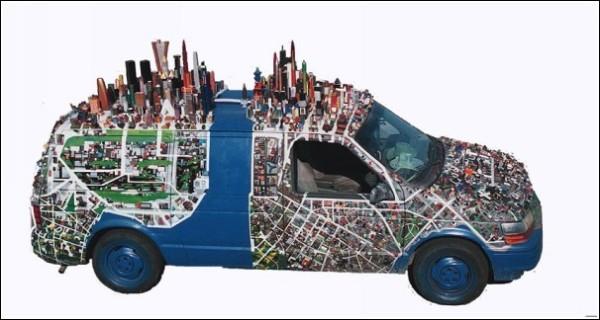 Машина + карта местности = мечта туриста
