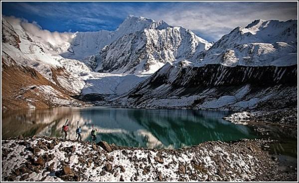 Озеро: фотографии гор Джимми Чина