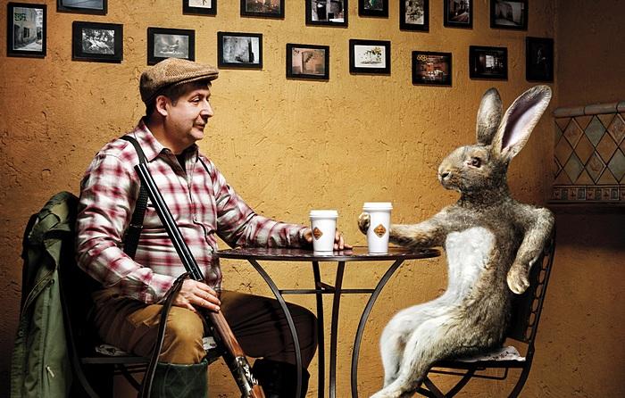 Лесные были и небылицы: забавная реклама кафе