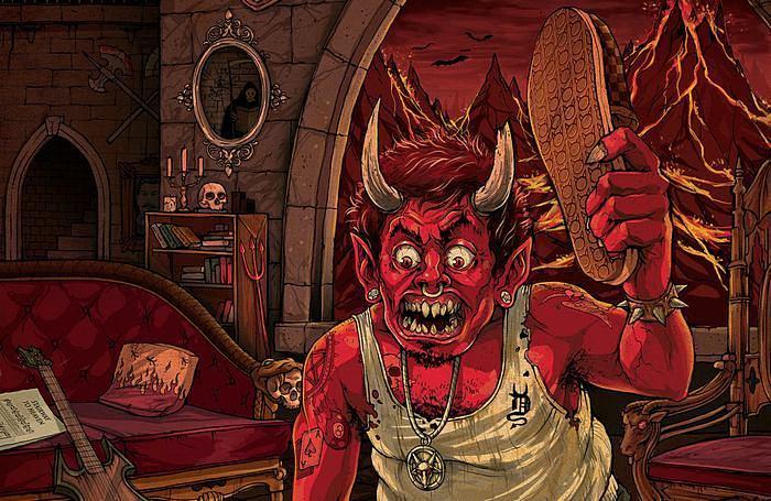 Особая сковородка в аду