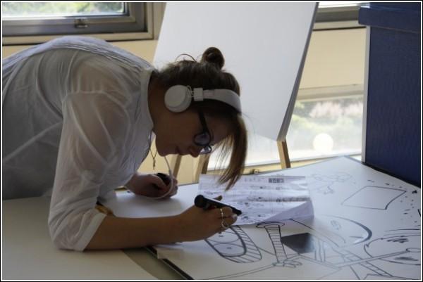 Процесс рисования комикса: арт-рекорд не за горами