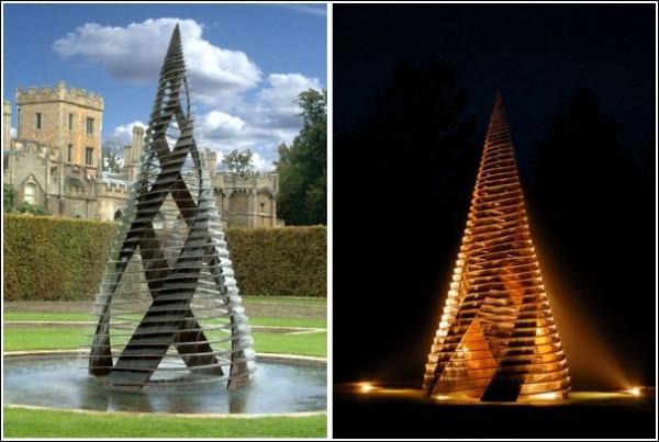 Парковая скульптура Джайлса Рейнера: «Кориолис»