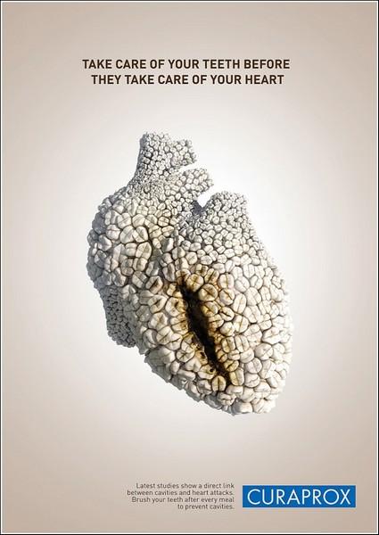 Сердце из зубов