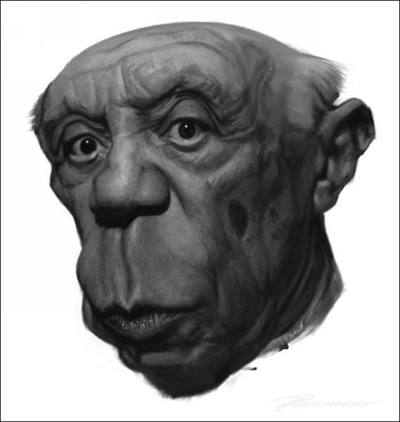 ХХ век в шаржах. Веселые рисунки Доминика Филиберта: Пабло Пикассо