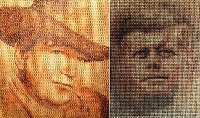 Портреты на стреляных гильзах: Джон Кеннеди