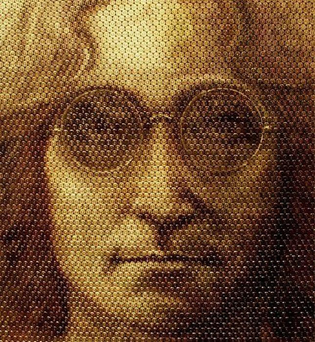 Портреты на стреляных гильзах: Джон Леннон