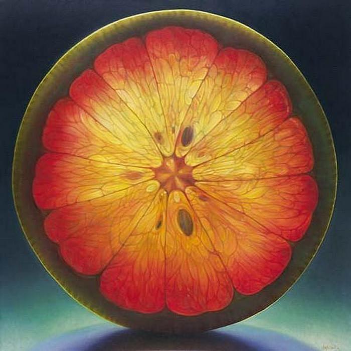 Цитрусовые лепестки: масляная живопись Денниса Войткевича