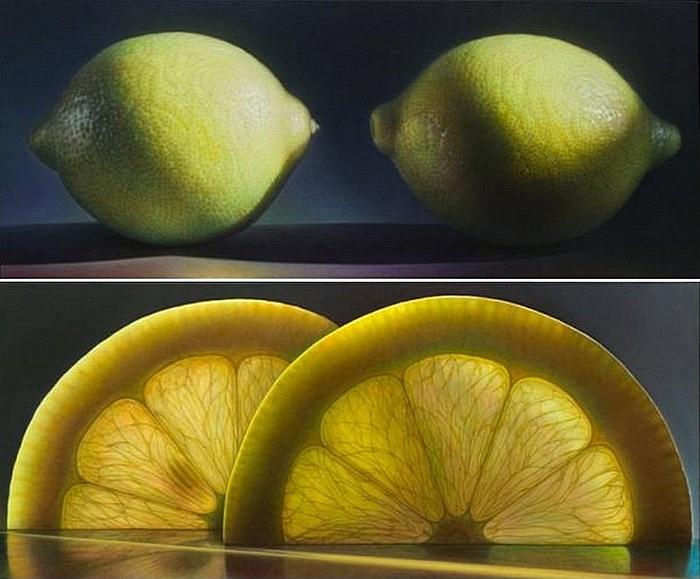Лимоны: масляная живопись Денниса Войткевича