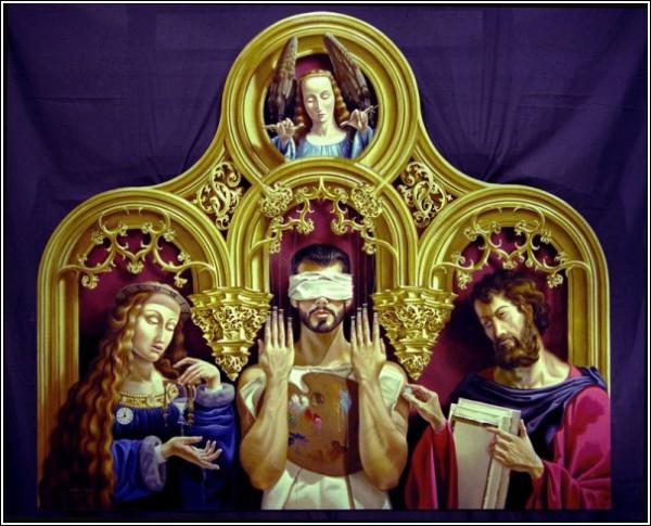 Сюрреалистический мир Джеффри Бэтчелора: «Deus Ex Machina» («Бог из машины»)
