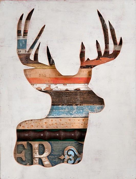 Картины-скультптуры: деревянные работы Долана Геймана