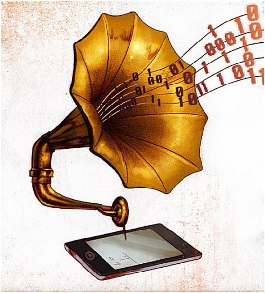 Цифровой граммофон Тима Дернинга