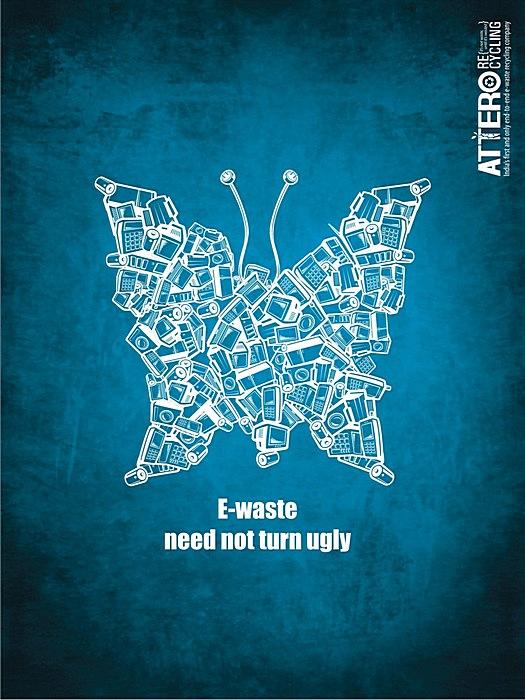 Креативные плакаты о ресайклинге: «Электронным отходам не нужно превращаться в уродство»