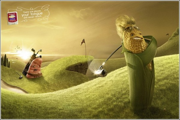 Забавная реклама флосса: сэр Кукуруз