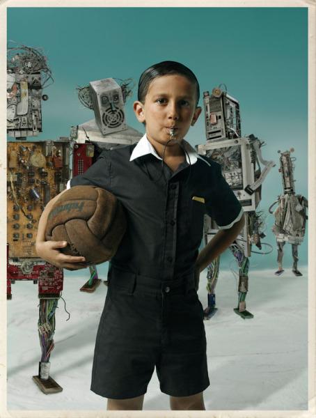 Команда роботов: забавные и странные фотографии Габи Хербштейн