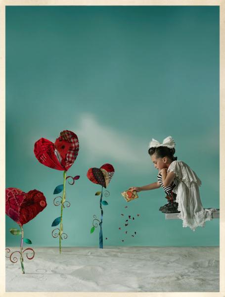 Растения-сердечки: забавные и странные фотографии Габи Хербштейн