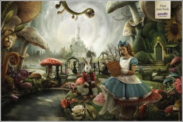 Забавная книжная реклама: Алиса и *ЛСД* Т. Лири