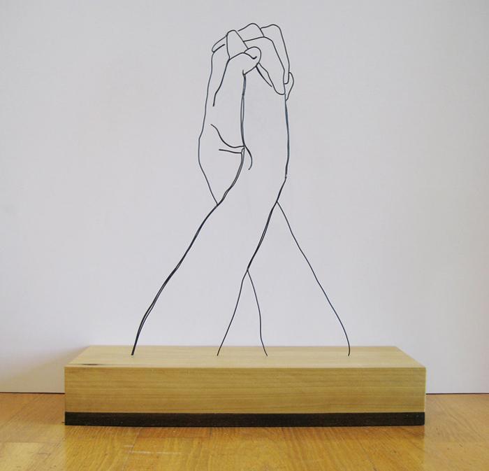 Руки из металлической проволоки: творчество Гэвина Ворта