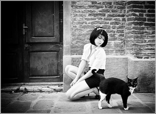 Черно-белые снимки Стефано Джакомини: состязание в пластичности
