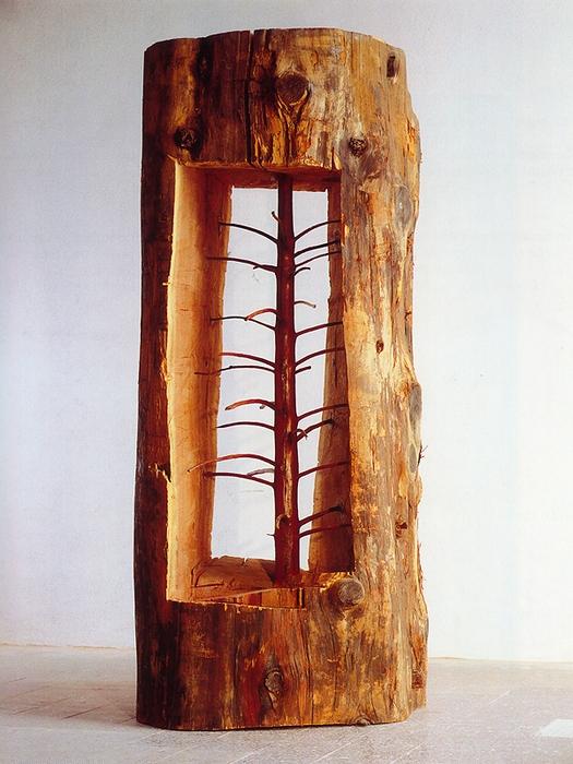 Скрытые возможности: «беременный» арт-объект Джузеппе Пеноне