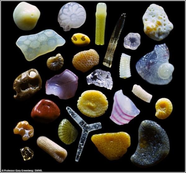 Песчинки с гавайского пляжа