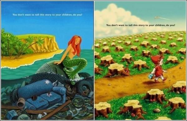 Сказка - ложь, да в ней намек: зеленая реклама для детей и взрослых