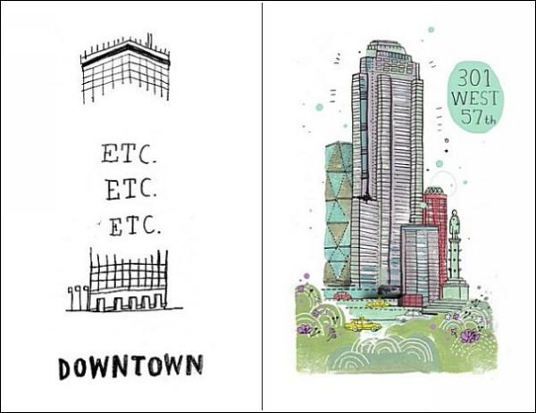 Все здания Нью-Йорка: стеб над небоскребами