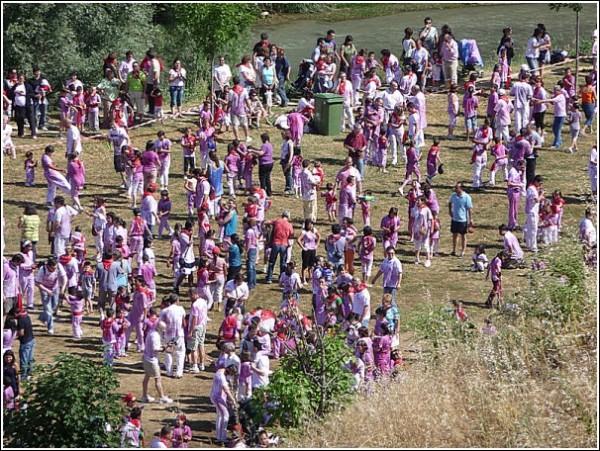 Праздник вина в Испании: рука бойцов поить устала