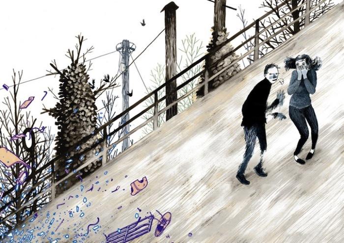 Прямо кадр из мультфильма: яркие рисунки Генри Маккаусланда