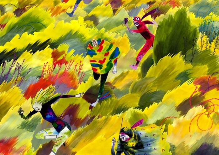 ЛБуйство красок: яркие рисунки Генри Маккаусланда